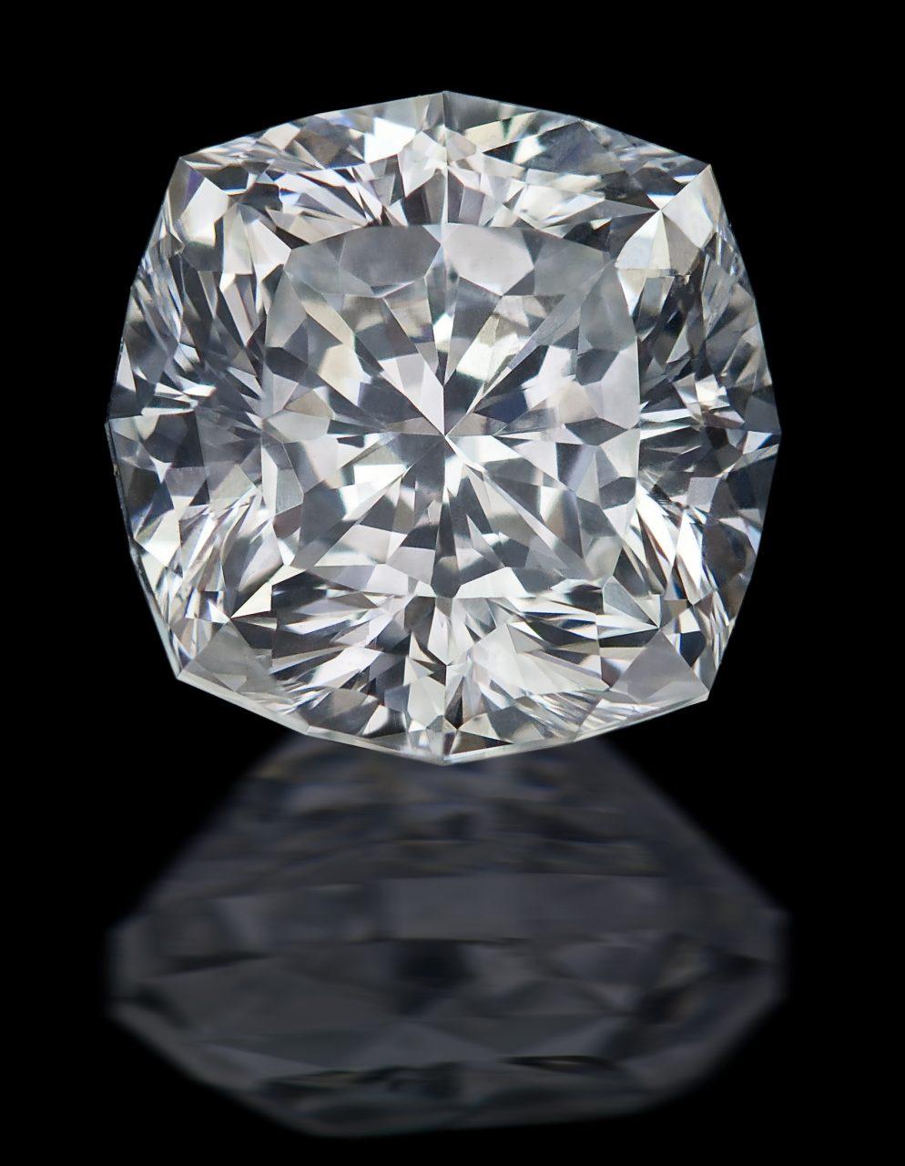 01. Ph. Hahn Sohne - Diamant - Gabrielle - Kissen, 157 ct