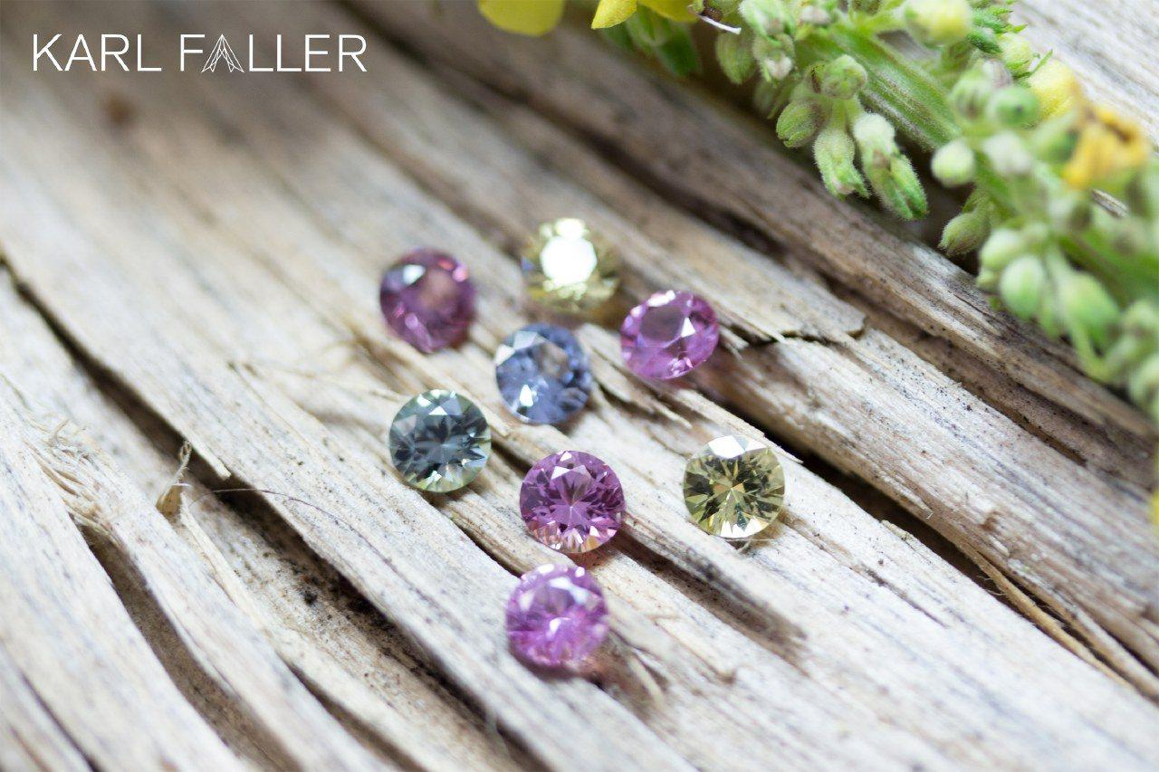 02. Karl Faller - Sapphire multicolor, fac