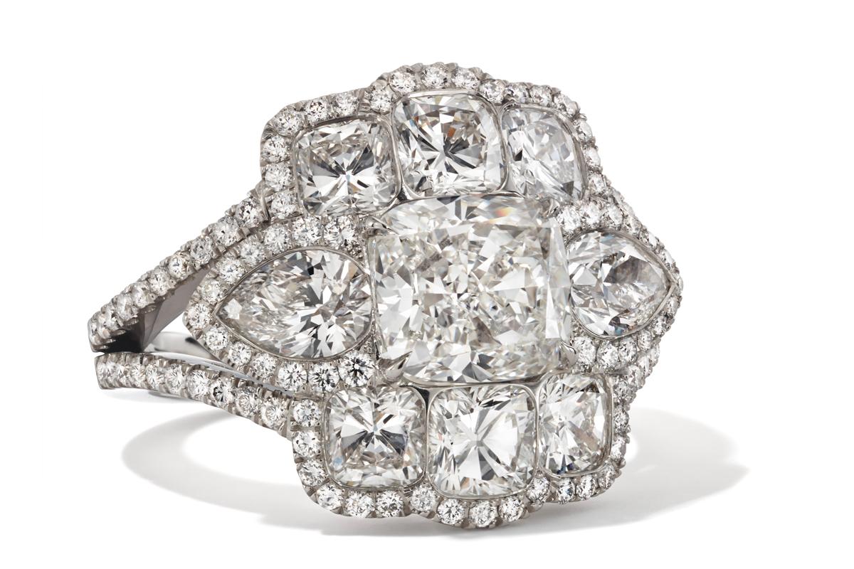Hans D. Krieger - Diamantring
