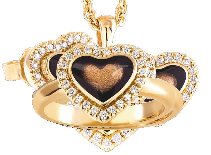 Jungbluth - Juwelen-Schmuck, Idar-Oberstein, Stand H2.302, Ring - Set in love Mein Herz